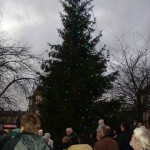 Switching on Silsden Lights - 2011