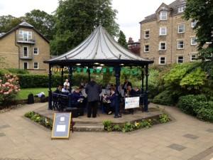 Ilkley Bandstand - June 2014