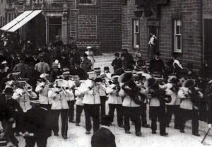 18a - Silsden Band Circa 1909
